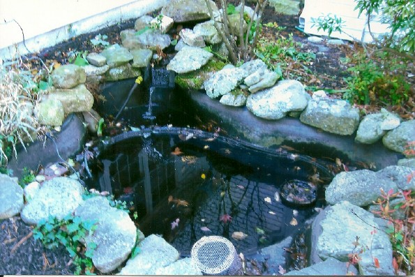 Design installation Preformed plastic pond