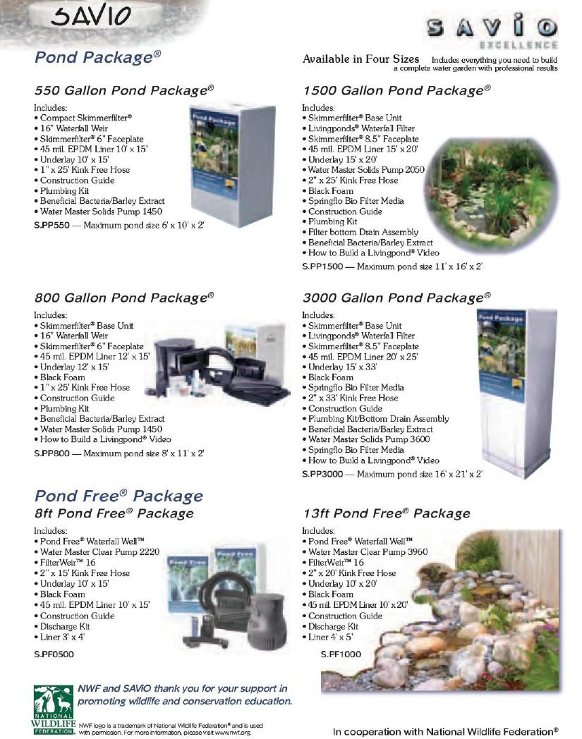 pond epdm kit